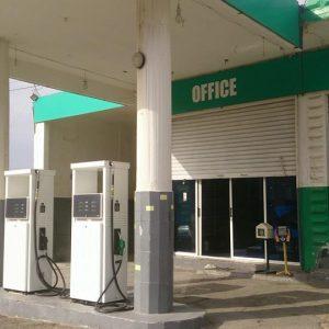 تركيب ماكينات تعبئة بنزين حديثة في محطة كفردونين