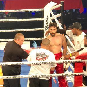 الشاب نسيم بركات يفوز ب Combat Arena -WCA Casino OF Montreal – Canada