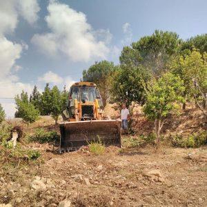 بدء الاعمال والتجهيز لتركيب مولد ٢٠٠ Kva في منطقة السدر