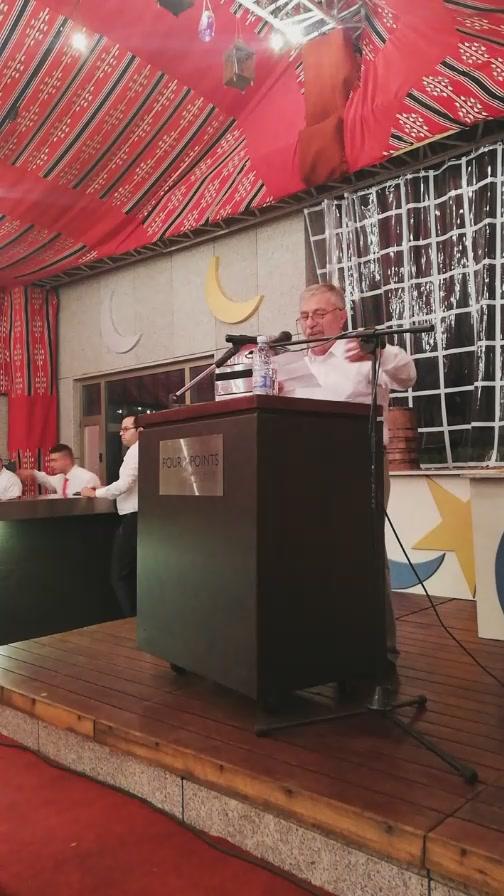 سحور الدكتور حسين يتيم بحضور عدد من أبناء البلدة
