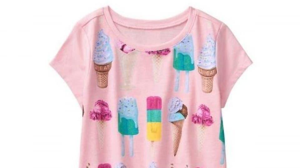 تحذير علمي: هذه الصور على ملابس الأطفال سبب للسمنة